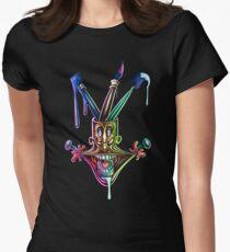 Manic artistic joy Women's Fitted T-Shirt