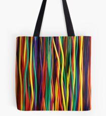 Rainbow Rods Tote Bag