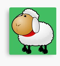 fun sheep Canvas Print