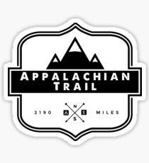 Pegatina Sendero de los Apalaches - AT Mountain Hiking Backcountry Camping