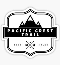 Pacific Crest Trail -  PCT Mountain Hiking Backcountry Camping Sticker