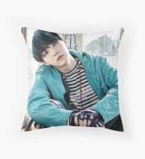 YNWA BTS SUGA Throw Pillow