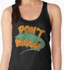 Don't Wanna Iguana Women's Tank Top