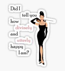 Happy at Tiffany's Sticker