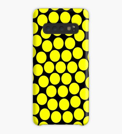 Circle Packing Yellow 91  Case/Skin for Samsung Galaxy
