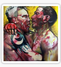 EMBRACE - MMA UFC FIGHTERS PAINTING Sticker