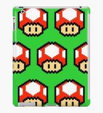 8-bit Mario Mushroom iPad Case/Skin