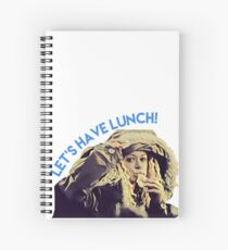 Helena // Let's have lunch // Orphan Black Spiral Notebook