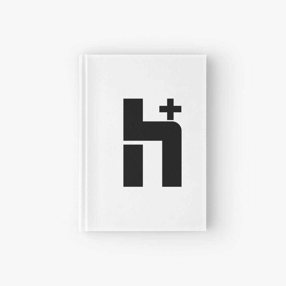 H+ Logo Large Hardcover Journal