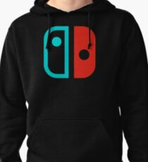 SWITCH RED AND BLUE Pullover Hoodie