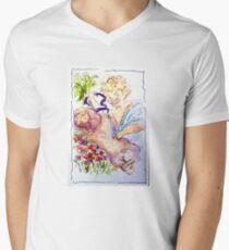 Angel of Compassion V-Neck T-Shirt