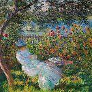 Alice Hoschede im Garten von Monet von GalleryGreats