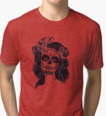 Gothic Skull Tri-blend T-Shirt