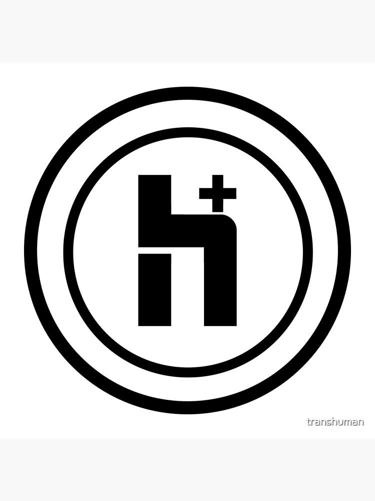 H+ Circle Logo 1 by transhuman