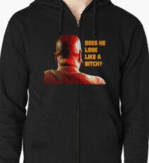 Marsellus Wallace Zipped Hoodie
