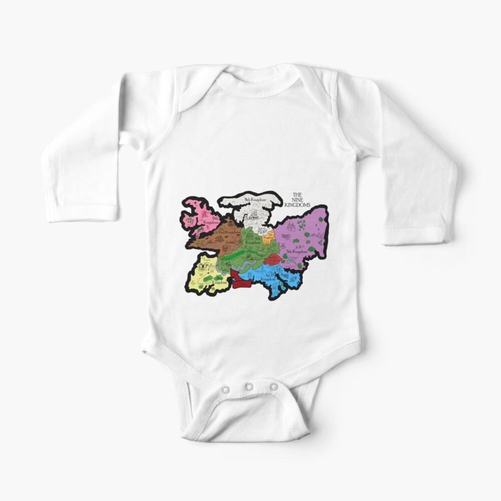 Karte der Neun Königreiche Baby Body
