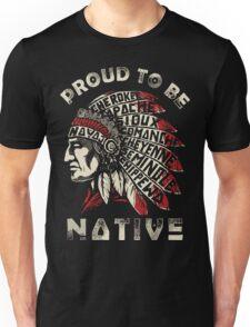 Native american shirts, No DAPL Unisex T-Shirt