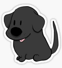 Small Bean - Black Labrador  Sticker