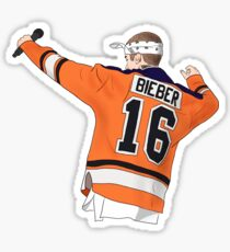 Bieber Purpose Tour Hockey Sticker