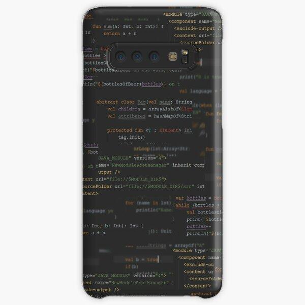 Code Samsung Galaxy Snap Case