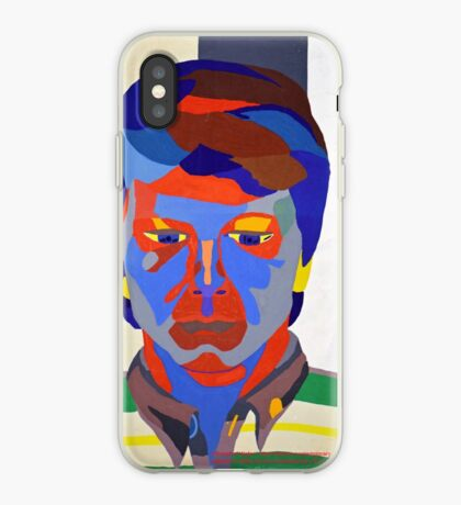 Nicky Holly of Wales, Portrait Painting by Neil Ap Jones.  iPhone Case