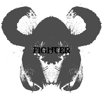 Fighter Class Inkblot by Cotchios