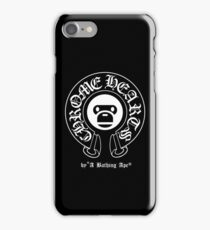 Chrome Hearts X A Bathing Ape Emblem iPhone Case/Skin