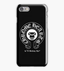 Chrome Hearts X A Bathing Ape Emblem iPhone Case/Skin
