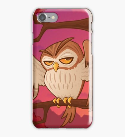 Mister Owley iPhone Case/Skin