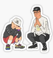King of the Trill Sticker