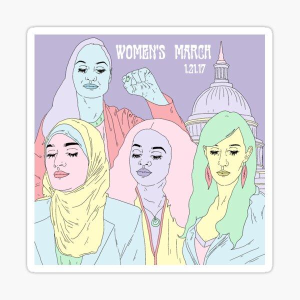 Women's March 2017 Sticker