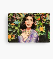 """Marina and the Diamonds 1 - """"The memory that I was yours and you were mine"""" Canvas Print"""