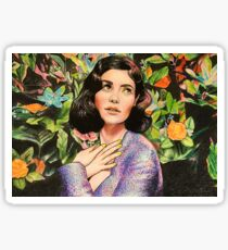 """Marina and the Diamonds 1 - """"The memory that I was yours and you were mine"""" Sticker"""
