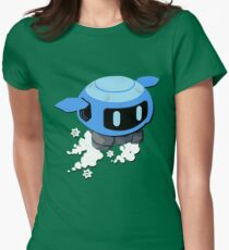 Mei Robot  Womens Fitted T-Shirt