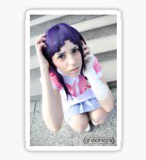 Mikan Tsumiki Cosplay - Super Danganronpa 2 Sticker
