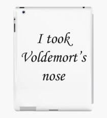 I took Voldemort's nose iPad Case/Skin