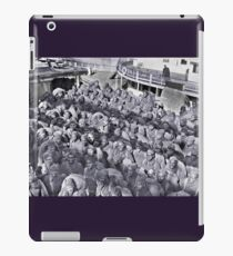WWI Black Soldiers on Transport Ship iPad Case/Skin