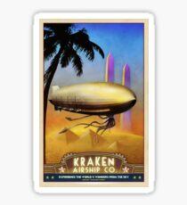 Steampunk Airship: Pharaoh's Glory Sticker