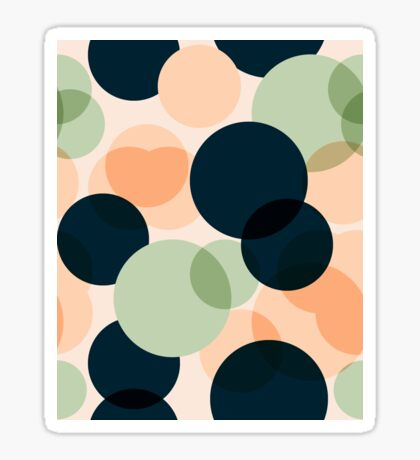 summernight peach Sticker