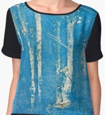 Frosted Trees Chiffon Top