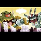 Super Kaiju Smackdown!!! by Jeff Crowther
