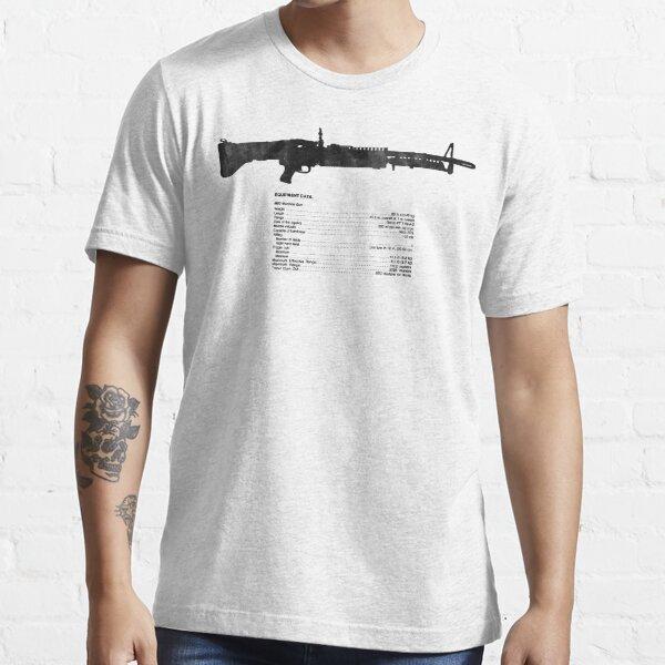 TM Machine Gun, 7.62-MM, M60 W/E Essential T-Shirt