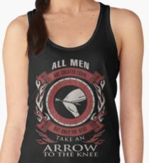 ONLY THE BEST TAKE AN ARROW TO THE KNEE Women's Tank Top