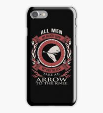 ONLY THE BEST TAKE AN ARROW TO THE KNEE iPhone Case/Skin