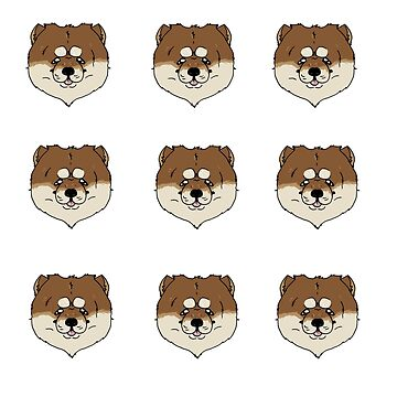 CHOW CHOW Sticker Set by question