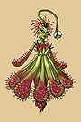 Carniverous Plant Ballerina Woman MONSTER GIRLS Series I by angelasasser