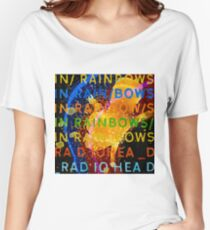 In Rainbows Artwork Reproduction using watercolours, ink and photoshop Women's Relaxed Fit T-Shirt