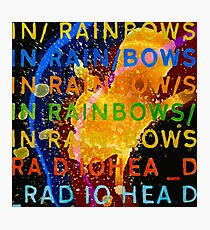In Rainbows Artwork Reproduction using watercolours, ink and photoshop Photographic Print