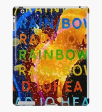 In Rainbows Artwork Reproduction using watercolours, ink and photoshop iPad Case/Skin