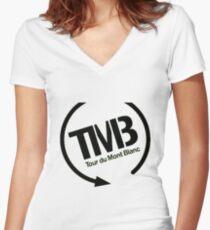 tmb Women's Fitted V-Neck T-Shirt